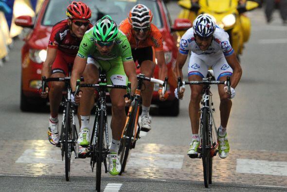 Quedaron cinco en cabeza: Luis León, Gorka, Sagan, Sandy Casar y Philipp...