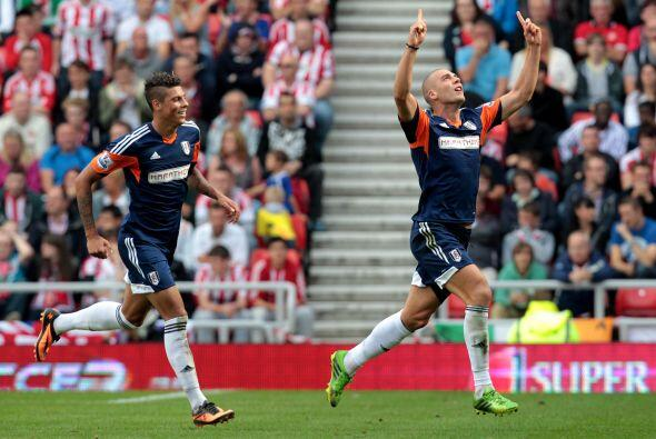 Fulham se llevó los tres puntos de la cancha del Sunderland con l...