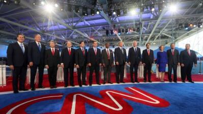 Candidatos republicanos encabezaron segundo debate en California CPEvyU0...