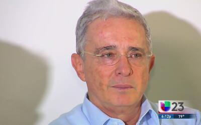 Álvaro Uribe agradeció el triunfo del no en el plebiscito de Colombia