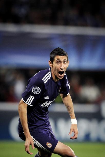 El argentino Angel Di María entró de cambio para cambiar las cosas.