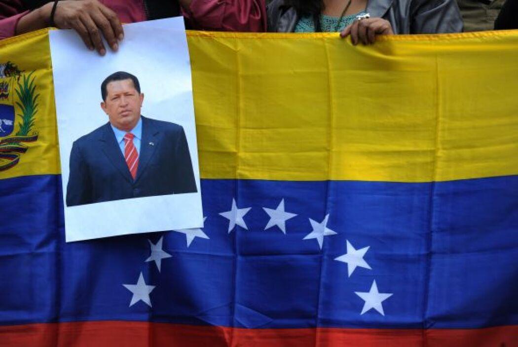 El presidente de Venezuela, Hugo Chávez, quien se repone de una nueva op...