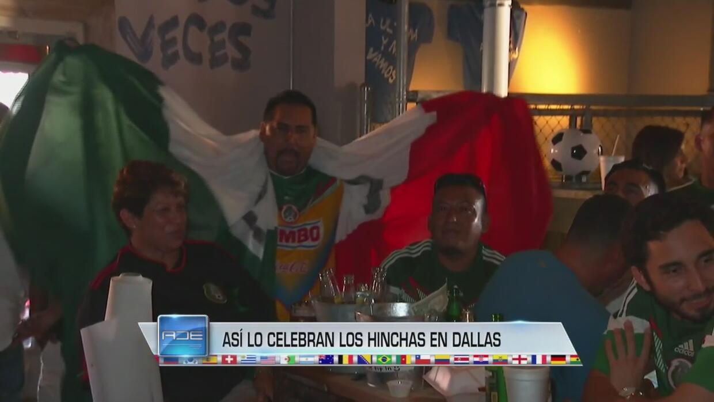 Fanáticos del Tri en Dallas festejan el título