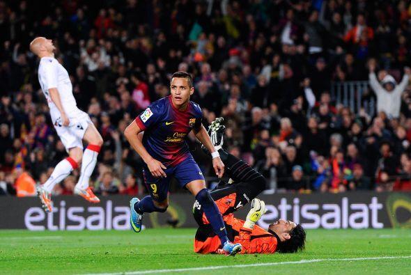 EL Barcelona también golea sin Messi.