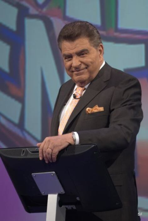Don Francisco es uno de los presentadores más queridos por la comunidad...