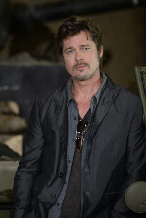 Empecemos con el bombón de Brad Pitt, quien obviamente tuvo muchas mujer...