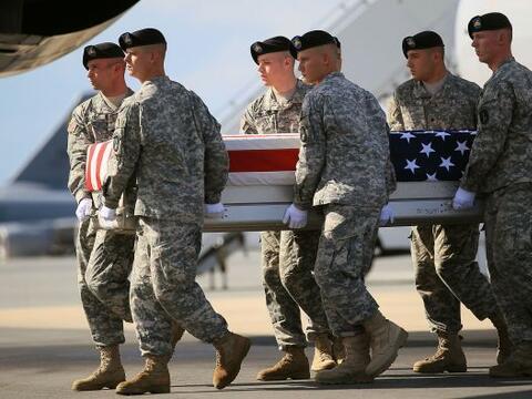 El presidente Barack Obama proclama hoy el final de la guerra de Irak, u...