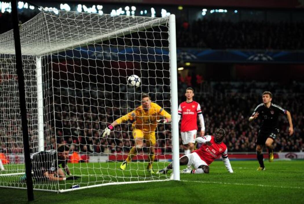 Pero el Bayern seguía teniendo una actuación digna de lo hecho en la fas...
