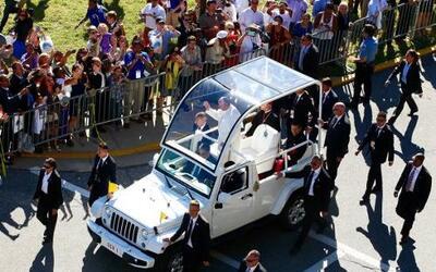 Para su visita a los Estados Unidos el Papa Francisco eligió al talentos...