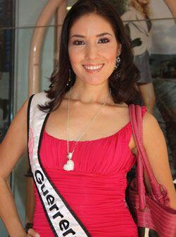 Nuestra Belleza Guerrero, Ana Rosa Manrique Aguirre de 23 años y 1.73 de...