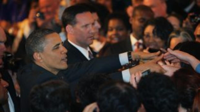 Obama recaudó fondos en Chicago