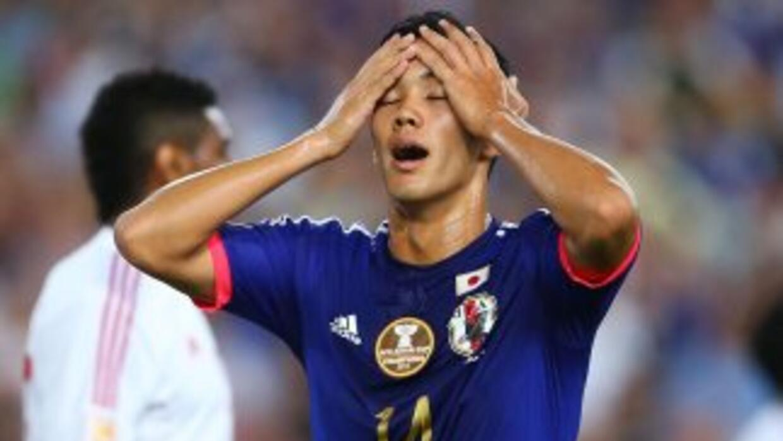Japón se quedo fuera de la Copa Asia en cuartso de final el perder por p...