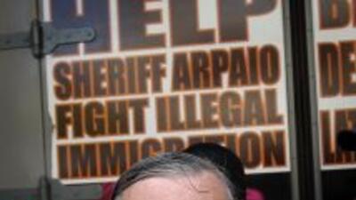 El abogado del alguacil Joe Arpaio, denominado el sheriff más duro de Es...