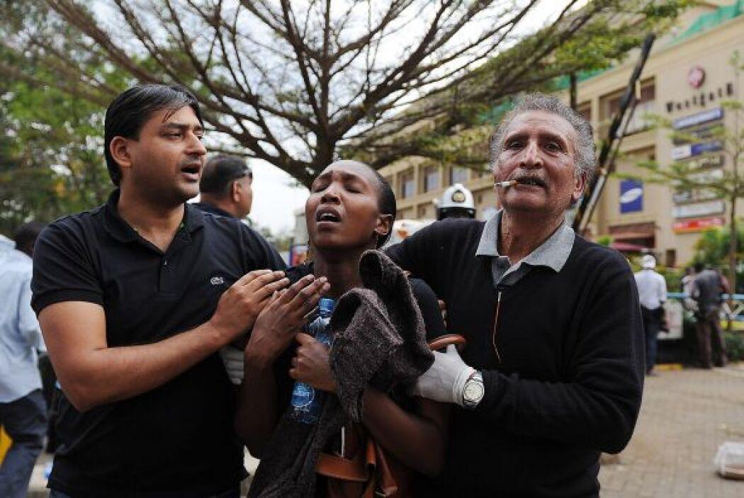Durante la jornada, el ministro keniano del interior dijo haber rescatad...