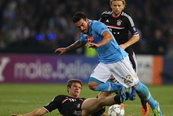 Pero el equipo italiano puso garra y corazón en busca de la igual...