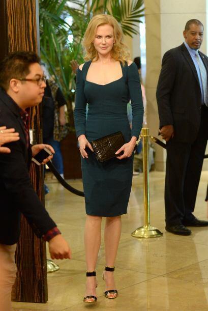 Sin duda, a Nicole Kidman, ni sus hijos le notan sus 47 primaveras.