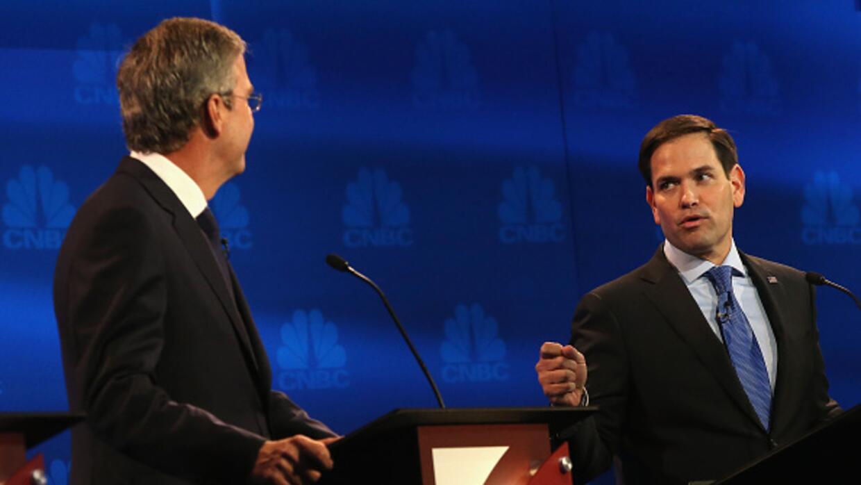 """""""Deberías presentarte al trabajo, o renunciar"""", le dice Bush a Rubio en..."""