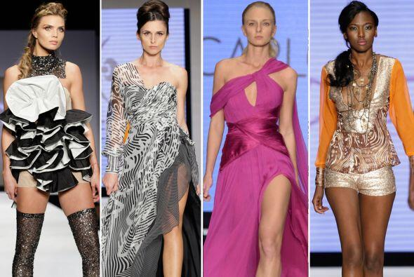 Diseñadores como Nicolás Felizola, Carlos Miele, entre otros, mostraron...