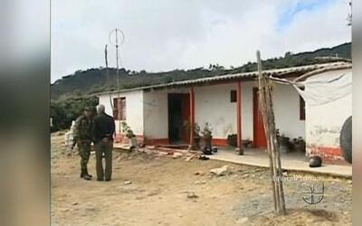 Masacre de campesinos en un área rural de Colombia