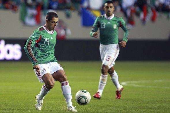 Los goleadores fueron Javier 'Chicharito' Hernández y Edgar Pacheco.