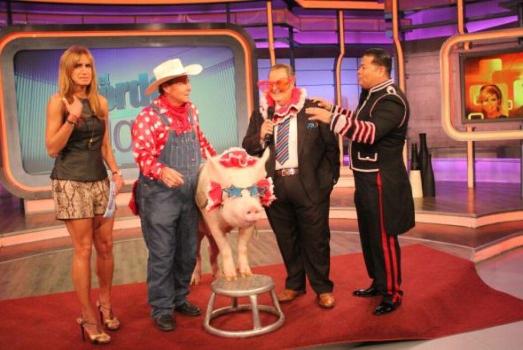 Raúl ya había tenido la oportunidad de conocer al animal en el circo.