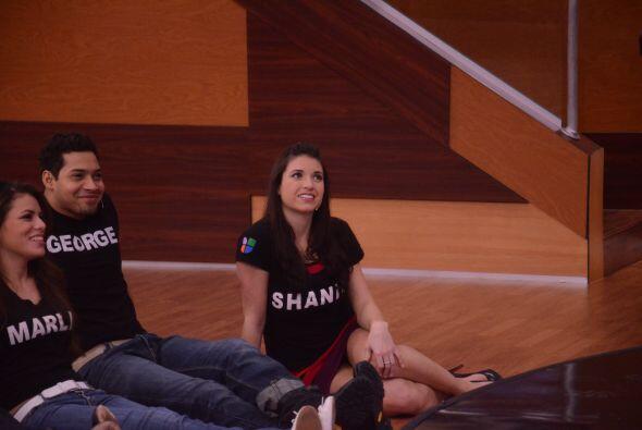 Shanik se puso romántica. Marlin y Adrián cruzaron miradas...