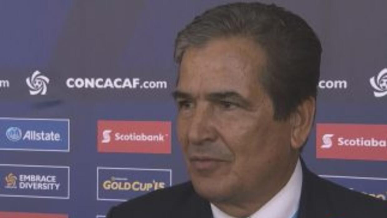 Jorge Pinto: 'Para hablar del grupo primero tengo que clasificar a Hondu...