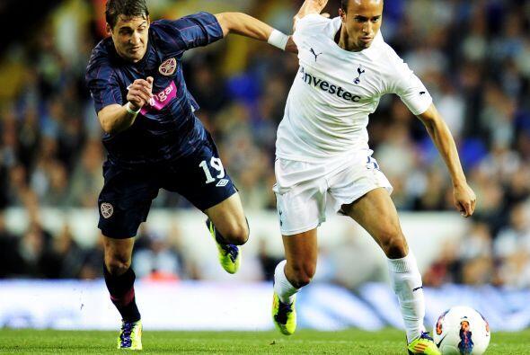 El Tottenham ya había goleado 5-0 en la Ida al Heart of Midlothian, así...