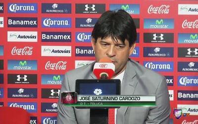 """José Saturnino Cardozo: """"El resultado es injusto"""""""