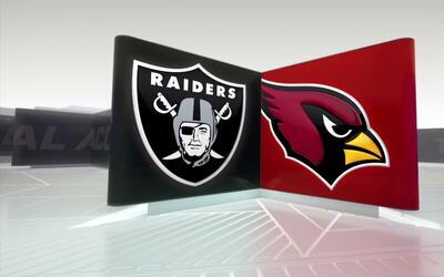 Raiders - Cardinals: Buen inicio de Oakland en pretemporada