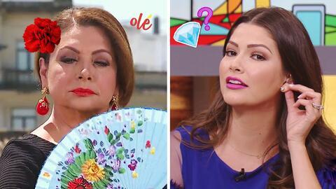 """#DAEnUnMinuto: María Antonieta sabe menear el abanico, y los aretes de """"..."""