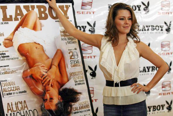 La sensual venezolana Alicia Machado ha dado mucho de qué hablar....