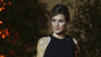 La princesa Letizia llamó la atención de la prensa por su aspecto, pero...