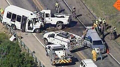 Más de una decena de personas mueren en un accidente de tránsito en Texas
