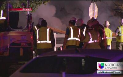 Dos personas heridas en explosión de gas en Romeoville