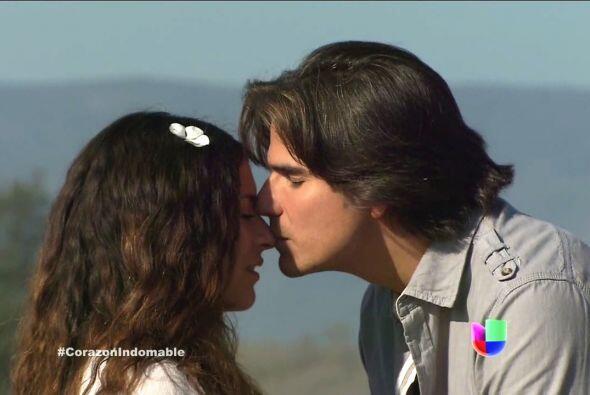 Octavio le pidió perdón poco tiempo después y la enamoró.