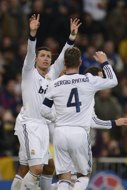 Gol 27 de Cristiano Ronaldo en la Liga.