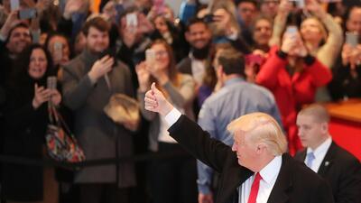 El evento en Ohio será la primera presentación en público de Trump desde...