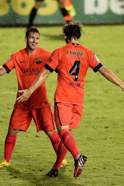 En la jornada 4, Messi tuvo actuación muy destacada en la paliza culé a...
