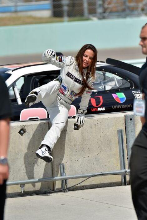 Kate es una fanática de la adrenalina.