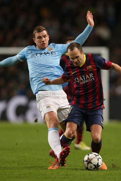 Iniesta volvió a ser bujía para el Barcelona.