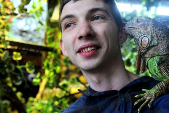 Lo que más ama de los reptiles es lo diferentes que son del resto...