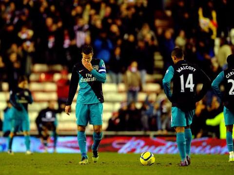 Arsenal volvió a demostrar que es un equipo muy irregular y qued&...