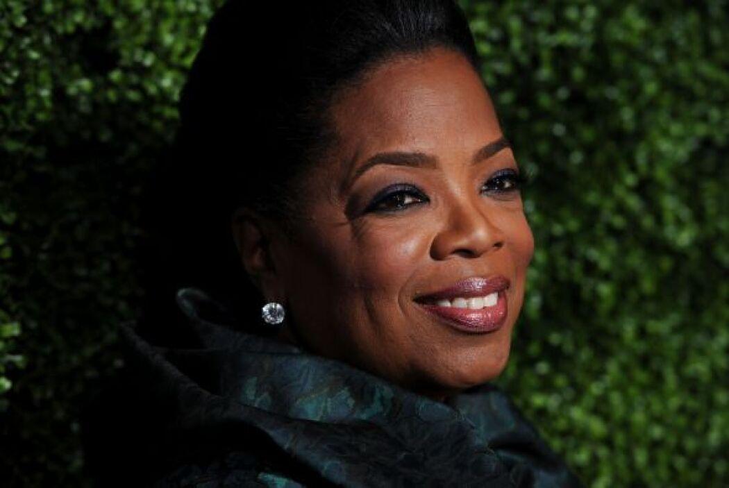 13. Oprah Winfrey Sin duda una de las conductoras más poderosas de Estad...