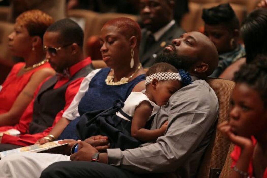 En el funeral también se dijo que estuvieron presentes familiares de Tra...