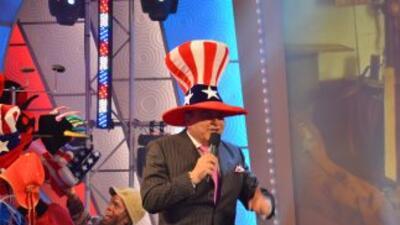 Don Francisco celebra cada Día de la Independencia con mucha emoción y l...