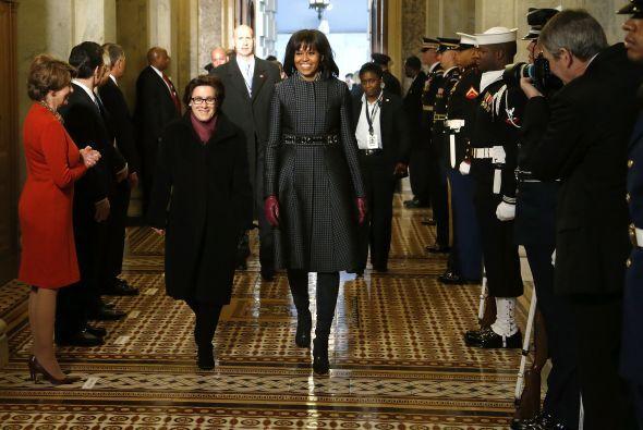 No por nada el estilo de Michelle Obama ha sido imitado por muchas mujer...