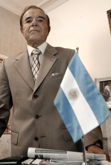 Carlos Menem: Otro de los infieles es el ex mandatario argentino, quien...