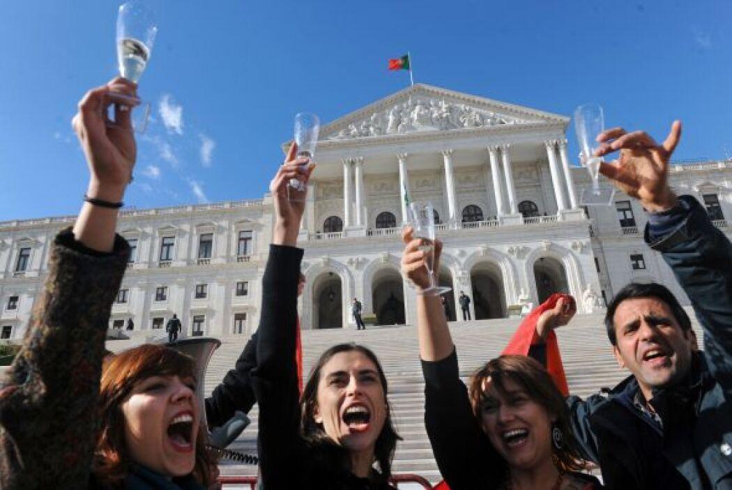 El matrimonio gay fue aprobado durante 2010 en Portugal.