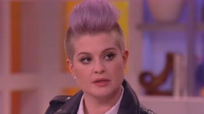 Kelly Osbourne desata polémica por comentario a Trump